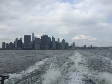 Saturday morning water taxi ride to Ikea in Brooklyn