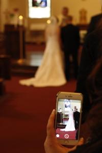Jeff and Erin's wedding.